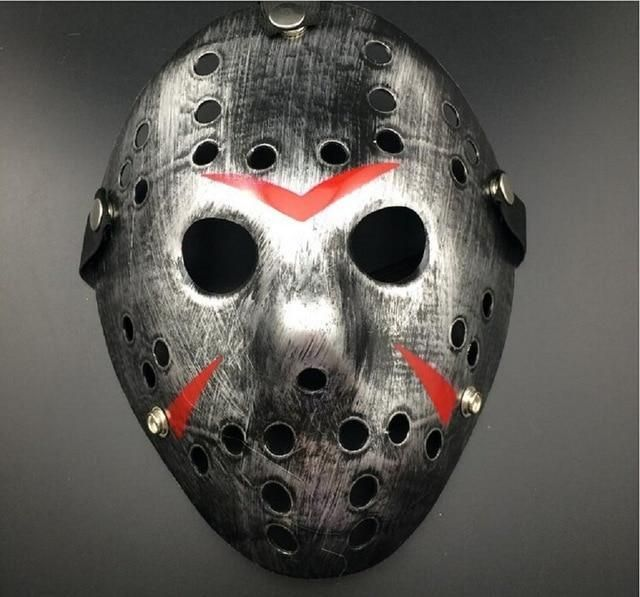 Jason Voorhees Friday the 13th horror movie Hockey Mask scary Party Mask