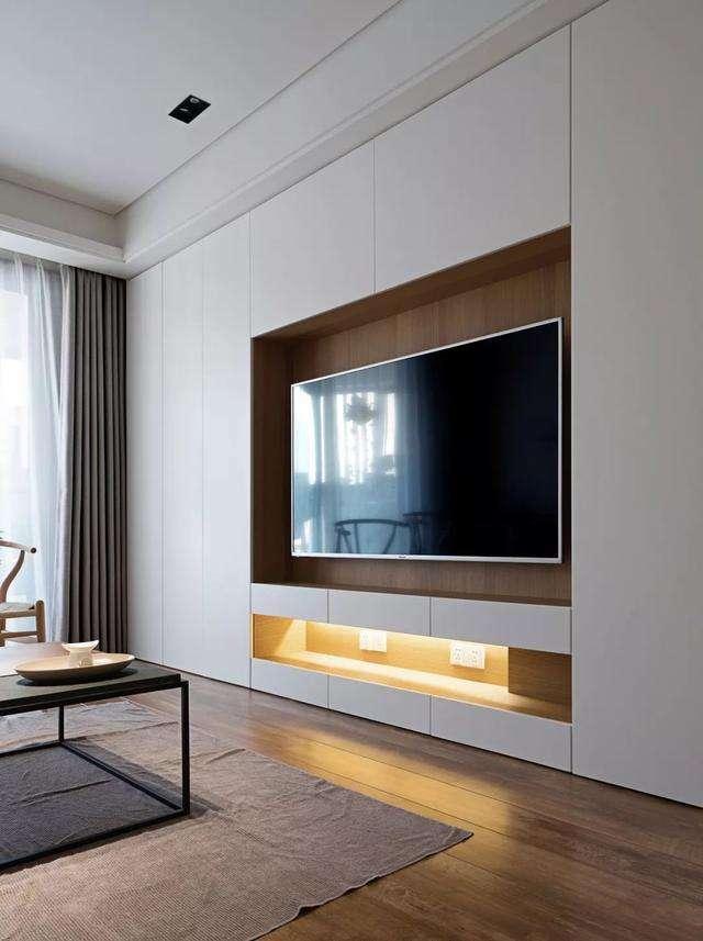 Wie Eine Schwebende Wand Für Ihren Fernseher Bauen Bedroom Tv Wall Living Room Design Modern Living Room Wall Units