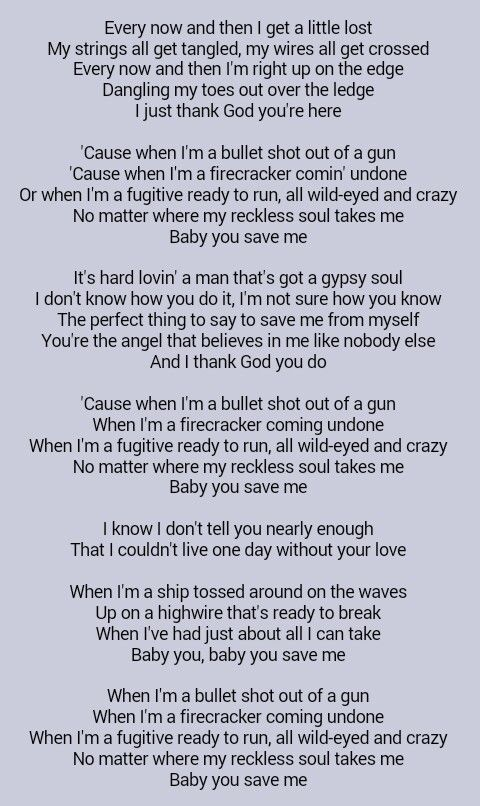 Kenny Chesney You Save Me Mike Dedicated This Song To Me Today