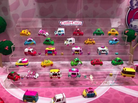 Toy Fair 2017 Shopkins Super Mall New Cutie Cars