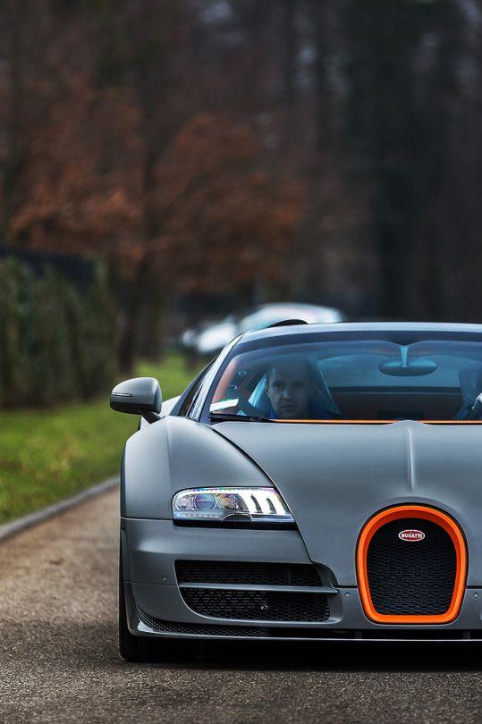 Bugatti Veyron Matte Gray Orange The Best Colour Combo Auto