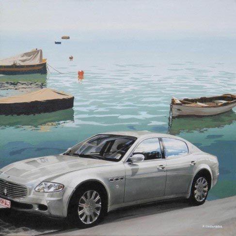 Rineke Engwerda, painting