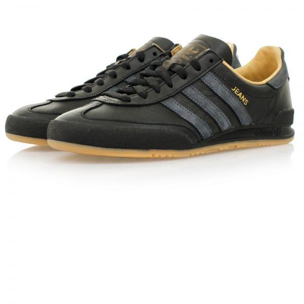 adidas jeans mk2 black leather