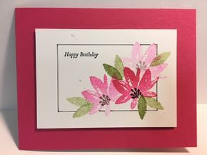 My Creative Corner!: Avant-Garden, Special Reason, Birthday Card, Stampin' Up!, Rubber Stamping, Handmade Cards