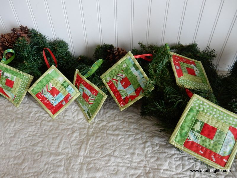 Quilted Christmas Ornaments A Quilting Life Quilted Christmas Ornaments Christmas Sewing Projects Handmade Christmas Ornaments