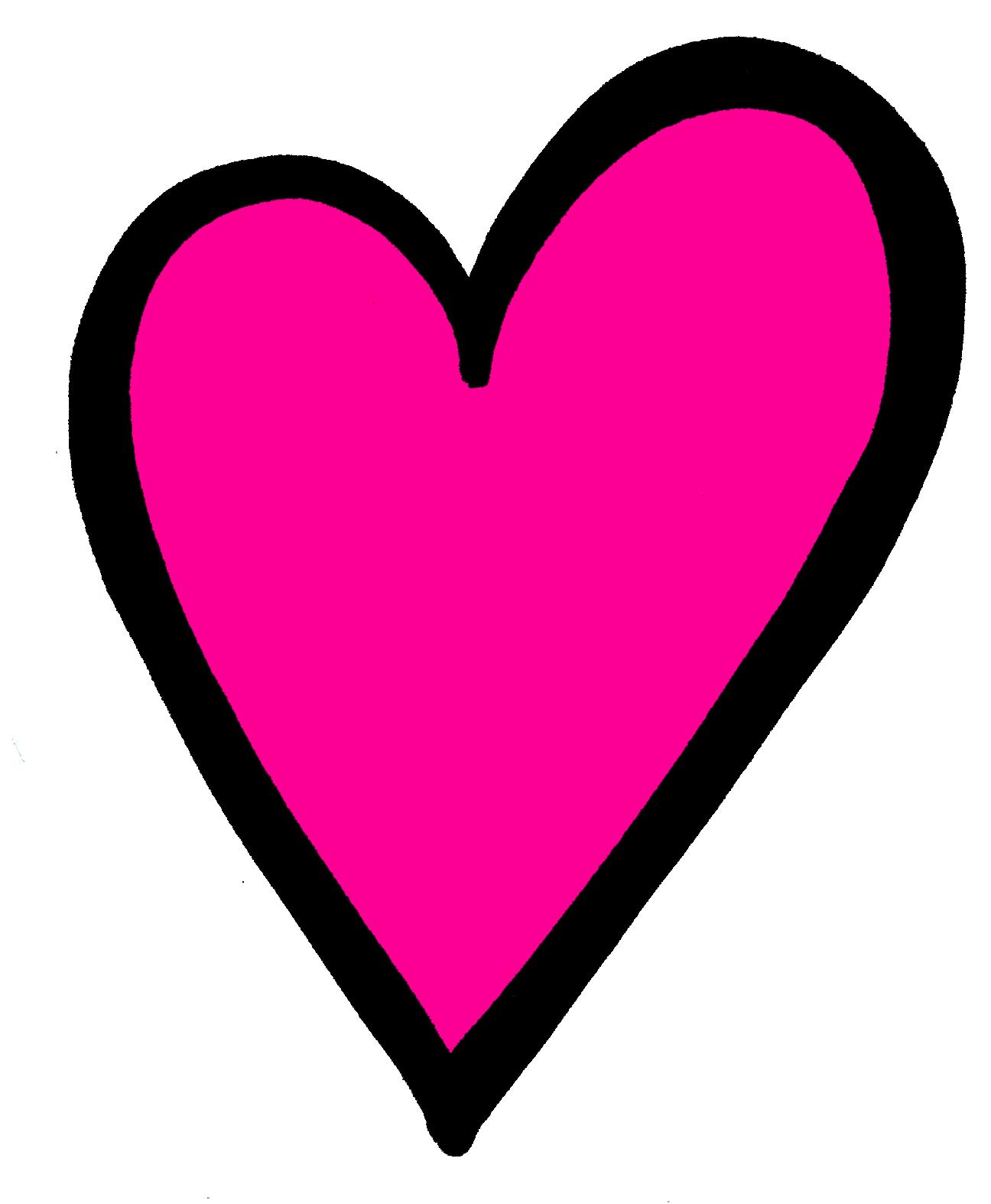 Transparent Pink Heart Clip Art
