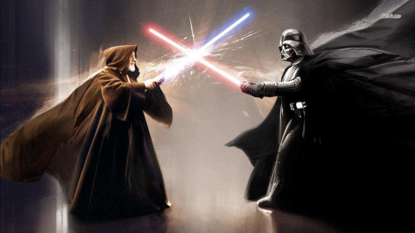 Obi Wan Kenobi Vs Darth Vader With Images Darth Vader Hd