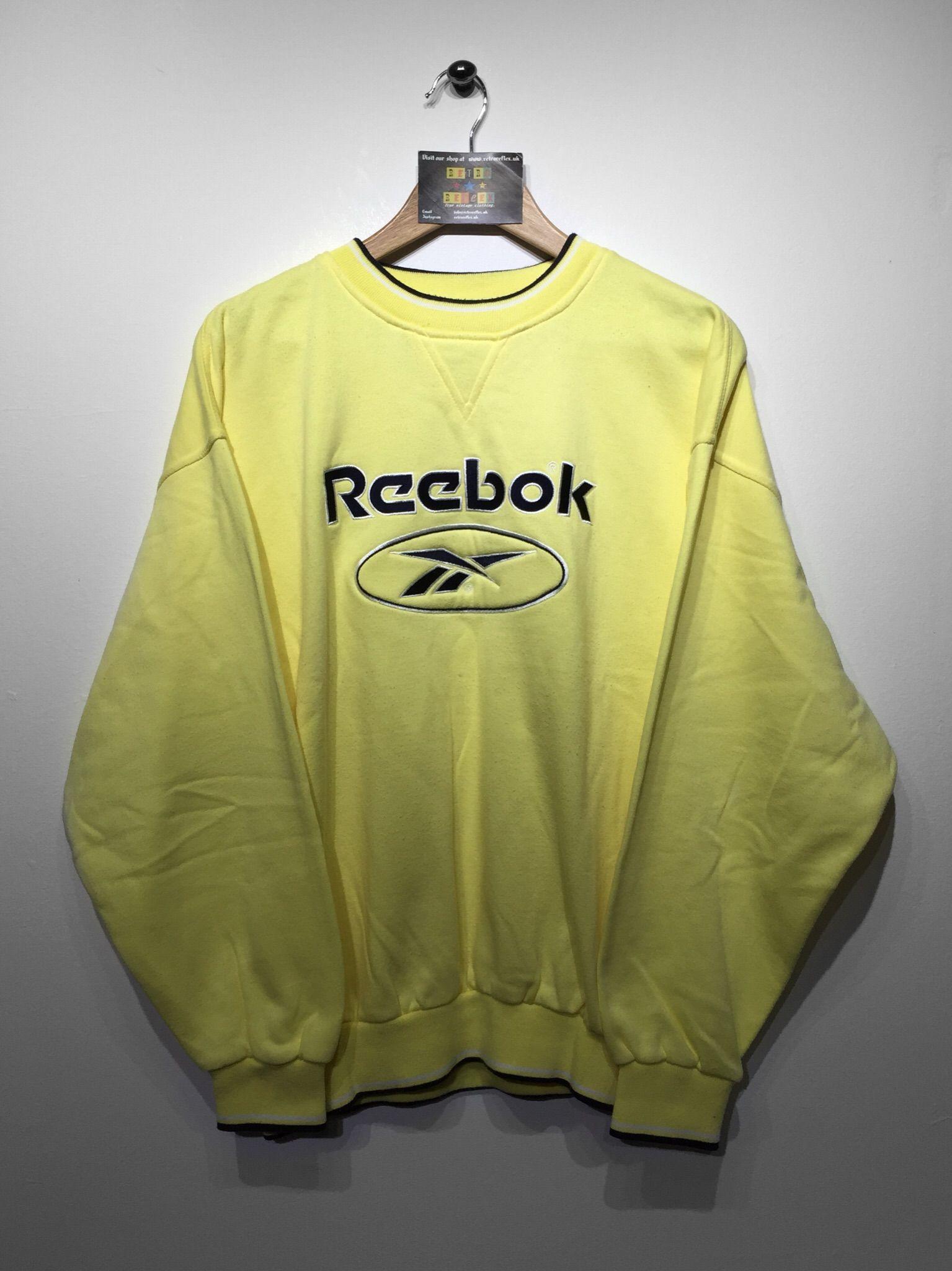 Reebok Sweatshirt size Large (but Fits Oversized) £32 Website➡ www. 8e360e906