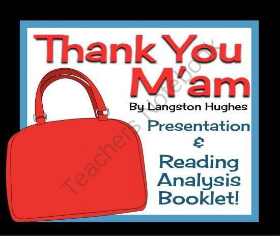 Thank you maim by langston hughes essay