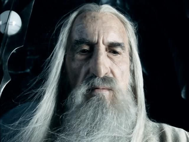 Darth Of The Day With Guest Blogger Saruman The White Lord Of The Rings Star Wars Movie The Hobbit