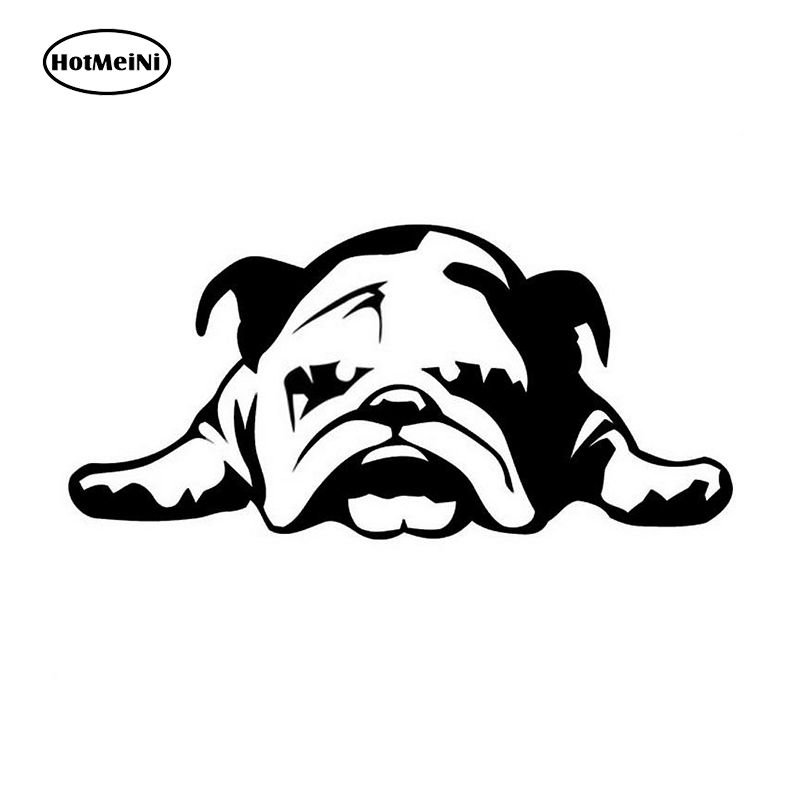 Hotmeini 11 23 Cm Auto Stickers Engels Bulldog Moe Puppy Hond