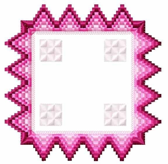 Bargello florentine square free embroidery design - Decoration ...
