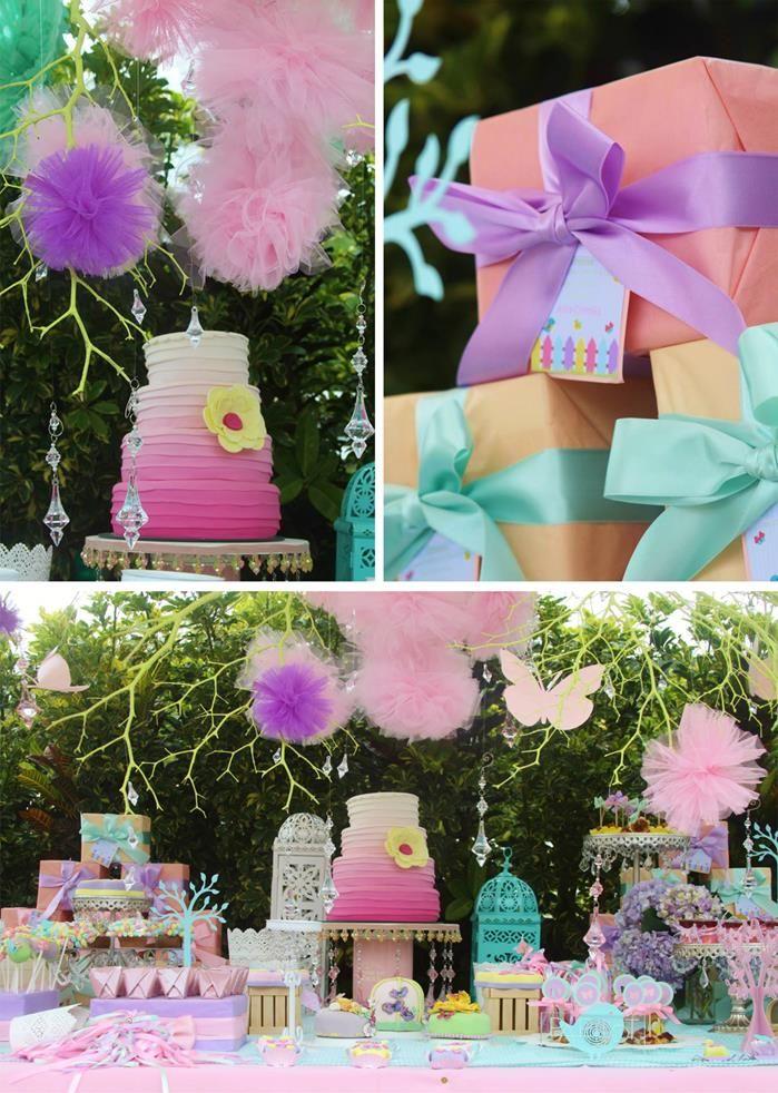 Secret Garden: Butterfly Garden Baby Shower Via Kara's Party Ideas