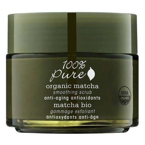Organic Matcha Anti-Aging: Antioxidant Smoothing Scrub