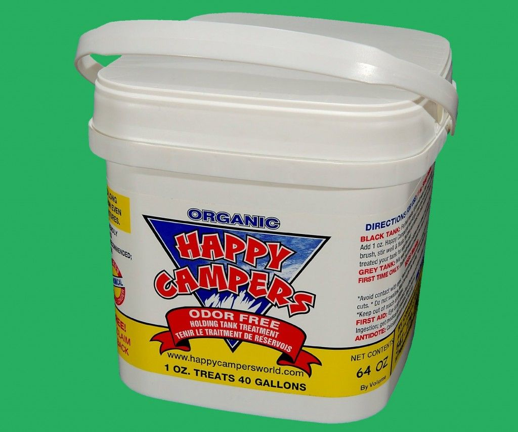 RV Holding Tank Treatment by Happy Campers