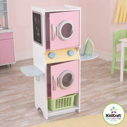 Kidkraft Laundry Playset Http Www Amazon Com Dp B00bttarmc Ref Cm Sw R Pi Awd X0jdsb01ydg2f Kids Kitchen Playset Kids Furniture