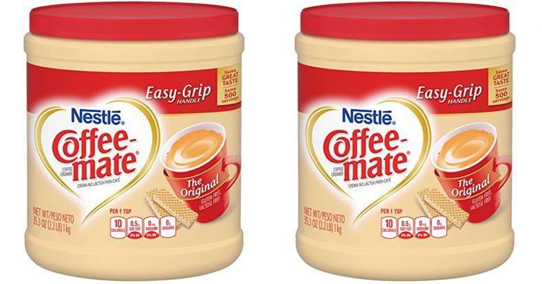 coffee mate hazelnut sugar free