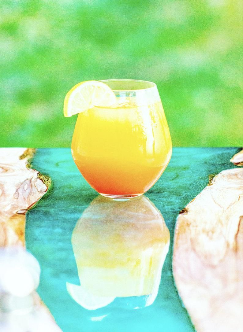 Table Top Art Resin Epoxy FDA Compliant Non Toxic Food