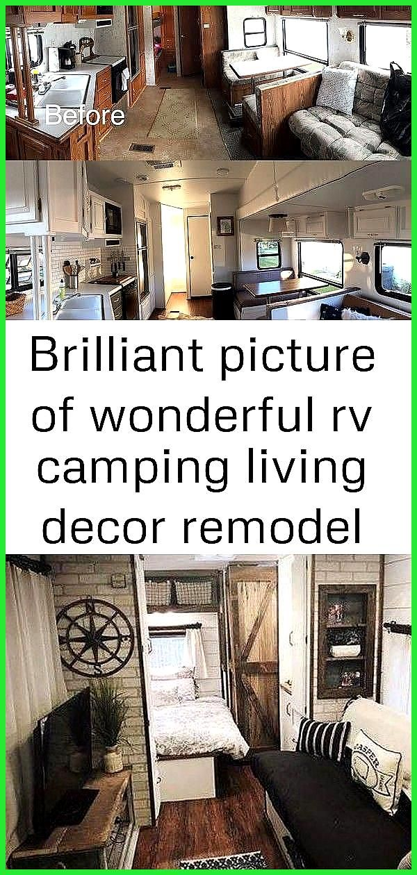 Brilliant Picture of Wonderful RV Camping Living Decor Remodel Makeover And Become Happy Campers Li