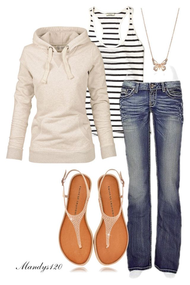 """""""Weekend"""" by mandys120 ❤ liked on Polyvore featuring By Malene Birger, Fat Face, BKE, Chinese Laundry and FOSSIL"""