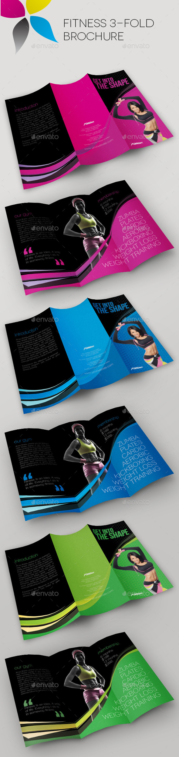 Fitness Fold Brochure Cs X  Fold Brochure Advert