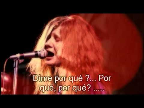 Janis Joplin Ball And Chain Subtitulado Al Espanol Youtube