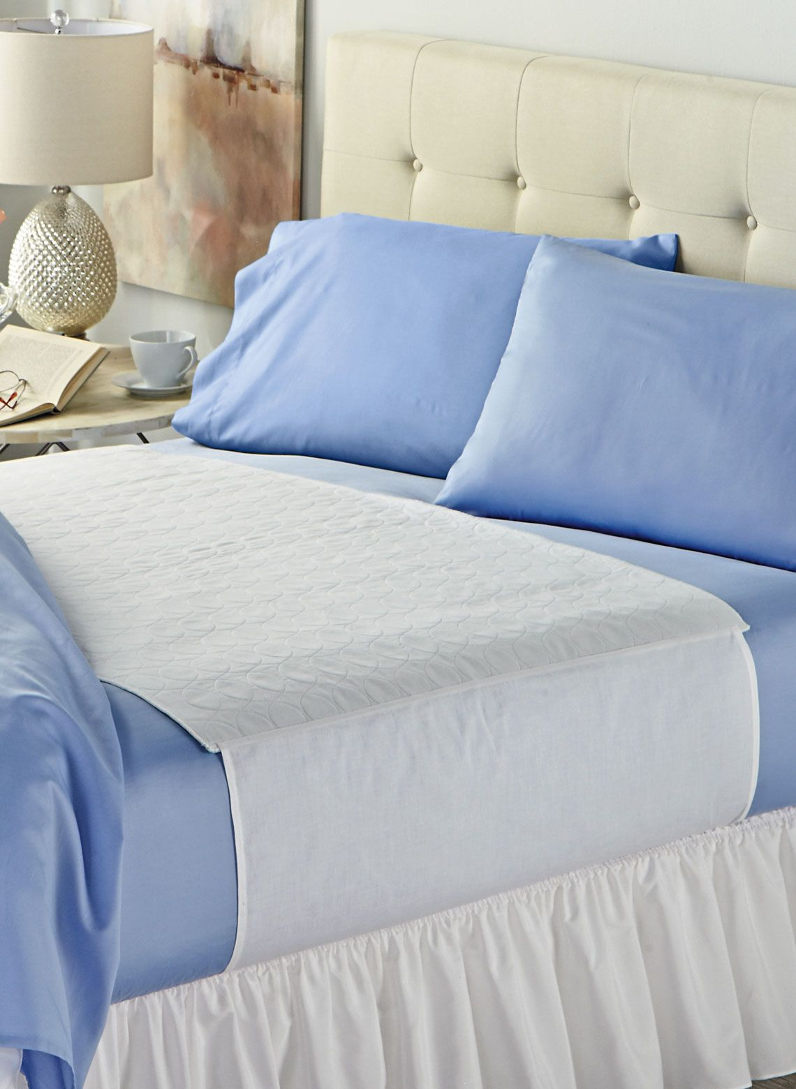 Quilted Waterproof Bed Pad Drleonards Com In 2020 Bed Pads Cheap Mattress Mattress Pad Cover