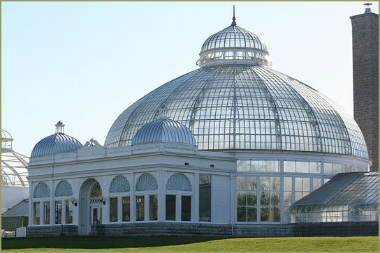 T He Buffalo And Erie County (New York) Botanical Gardens Was The Vision Of