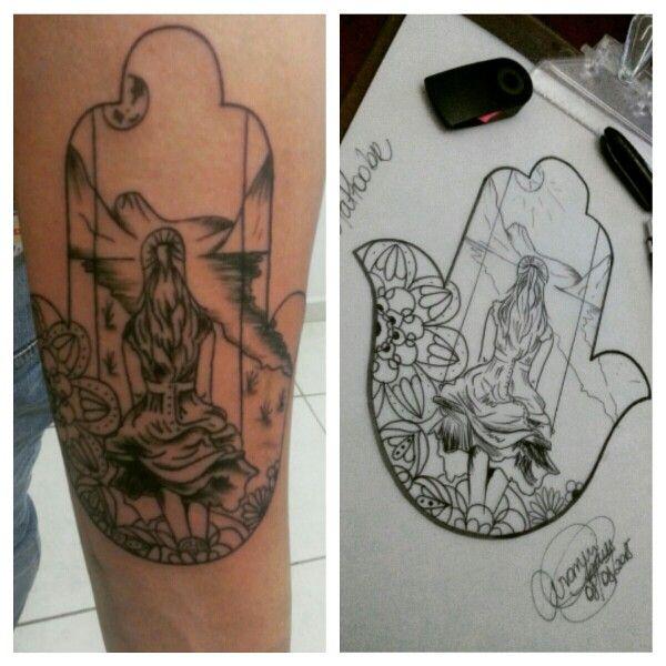 #BushidoTattooBR  #Tattoo #Tatuagem #Black #Line #BlackLines #Hamsa #TattooHamsa #TatuagemHamsa #Delicada #Amuleto #Exclusiva #Criação  #CuteTattoo #Ink #Inkit #tatuagensfeminina #tatuagemfeminina #Tatuadores_e_Tatuados #tattoo2me  Art By @araninchaves
