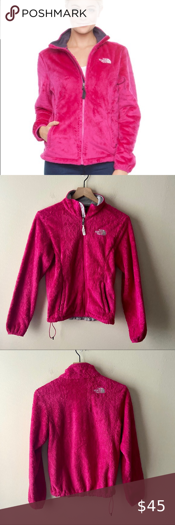 The North Face Hot Pink Fleece Jacket Brand The North Face Category Jackets Style Casual Outdoor Wear Activewear Co Fleece Jacket Jackets Jacket Brands [ 1740 x 580 Pixel ]