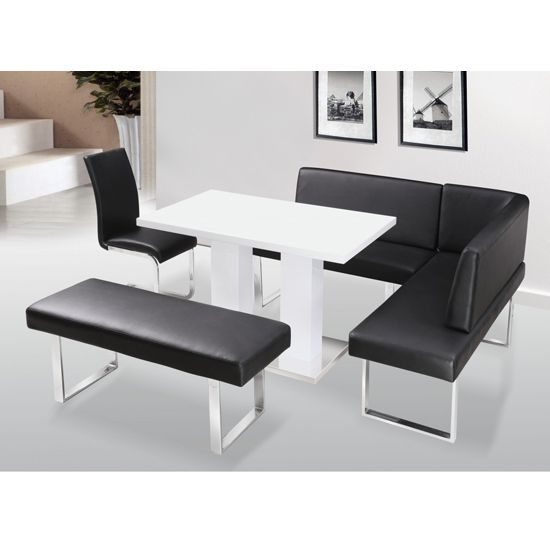 Liberty High Gloss Dining Table Set £1149Furniturefashion Stunning High Gloss Dining Room Furniture Design Inspiration