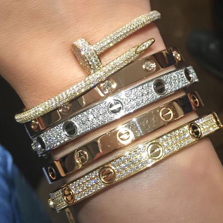 Pin By G O O D A Z On Favs Cartier Love Bracelet Fashion Jewelry Cute Jewelry