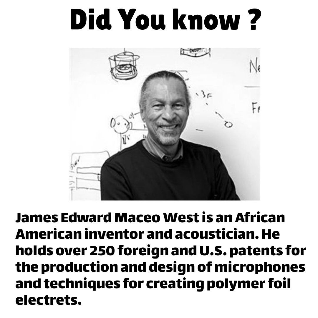 Now You Know Pass It On Africanamerican Inventor