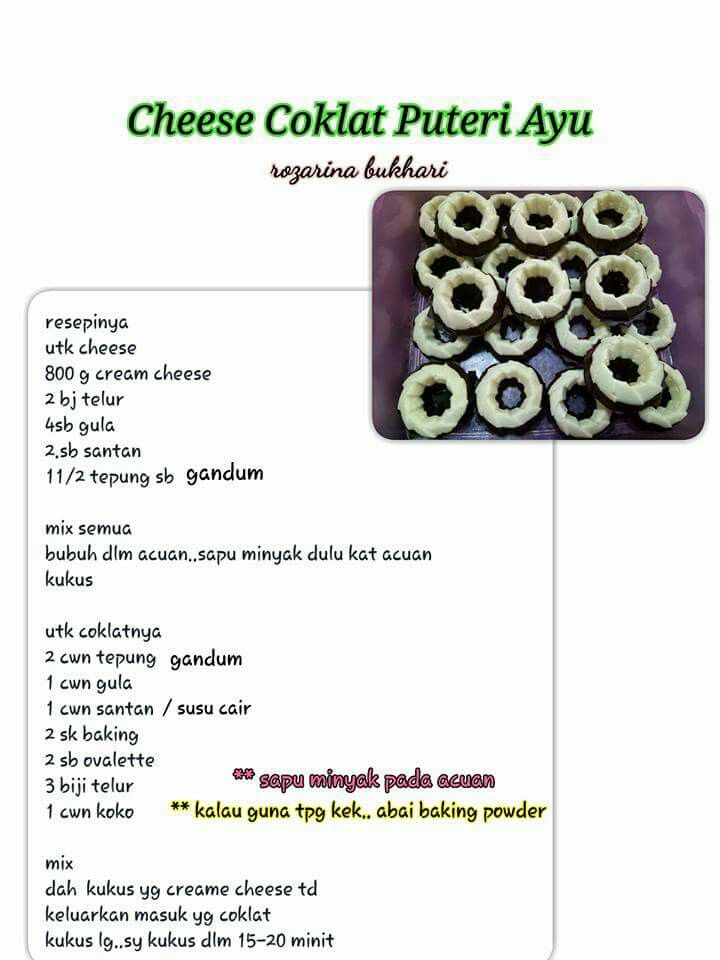 Ayu resepi cheese puteri