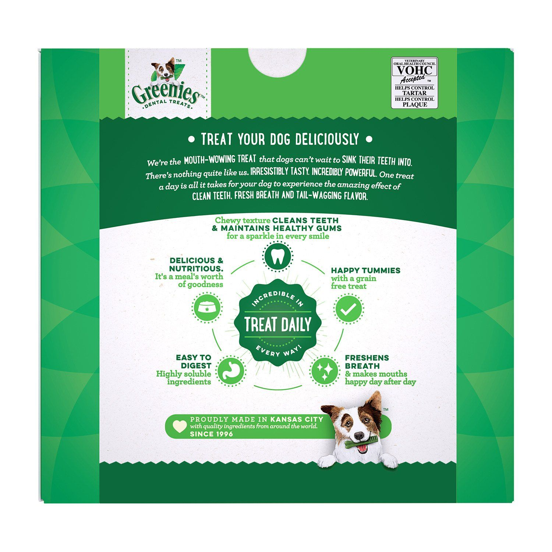 Greenies Original Regular Size Dog Dental Chews 36 Ounces 36