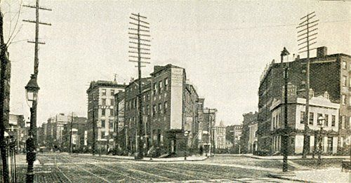 Future Site Of Foley Square Centre Street Looking Past Reade Street Toward Worth Street Veering To The Right Is Act Nyc Park New York City Hall Centre Parks