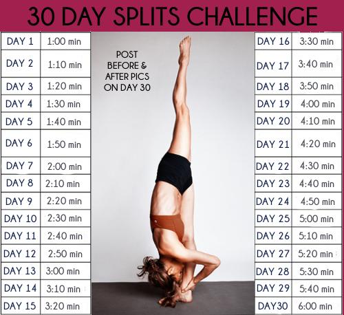 Split Challenge | My Style | Gymnastics workout, Dance stretches