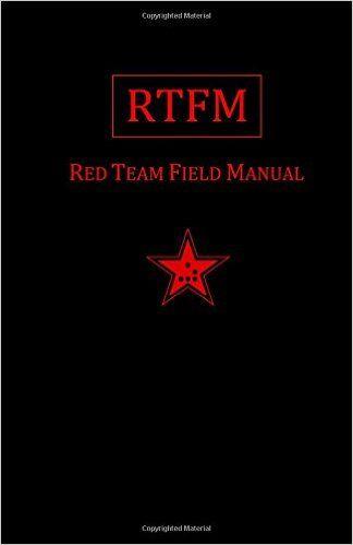 Hacking books rtfm red team field manual ben clark hacking books rtfm red team field manual ben clark 9781494295509 amazon fandeluxe Gallery