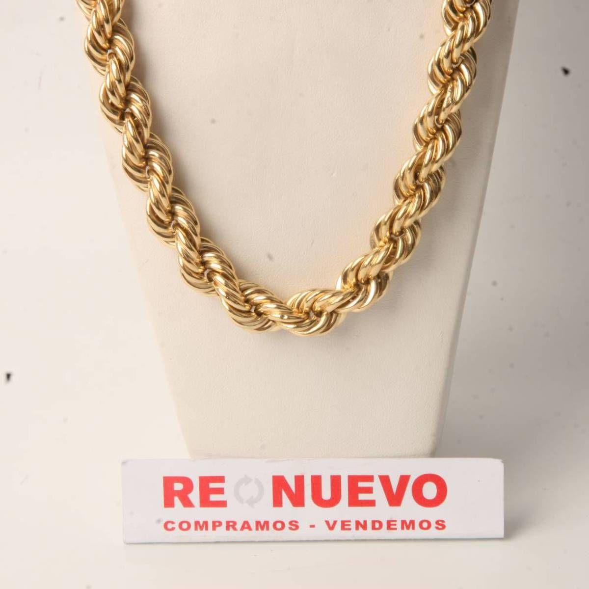 7601142a5c6e Cordón de segunda mano de oro de primera ley E278258A