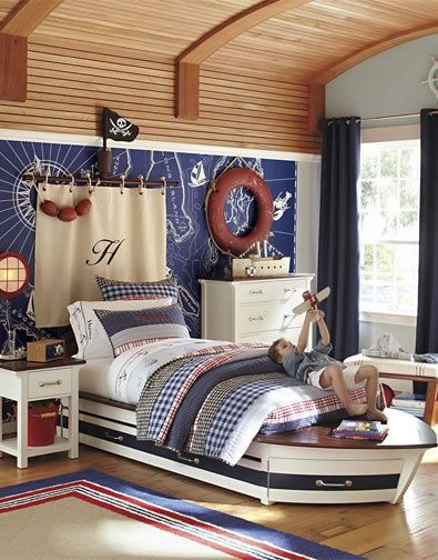 Pirate Room Could Probably Do This With Old Curtains And