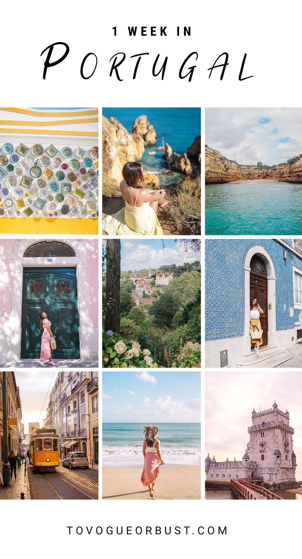 1 Week In Portugal With Air Transat Portugal Reisen Reisen Urlaubsreisen