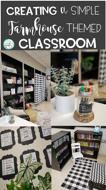 Farmhouse Themed Classroom Decoration Ideas