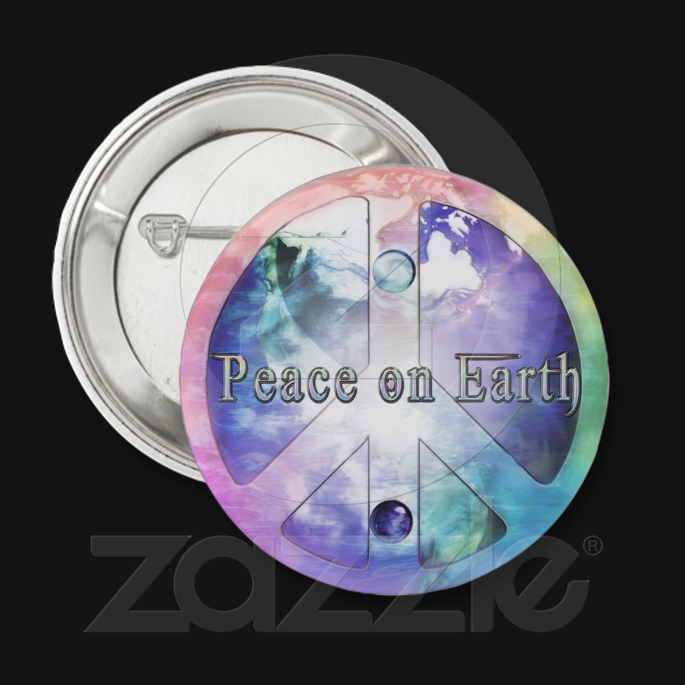 Peace on Earth 2012 Pinback Button  $2.65