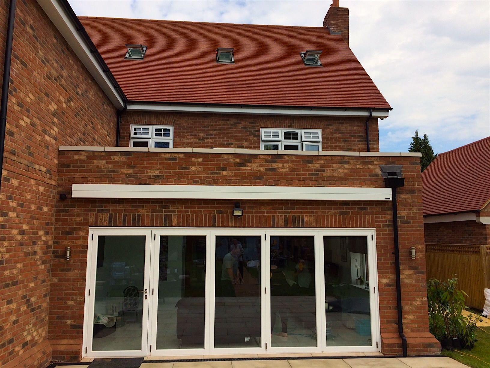Patio Awning Installation in Roydon, Essex which we ...