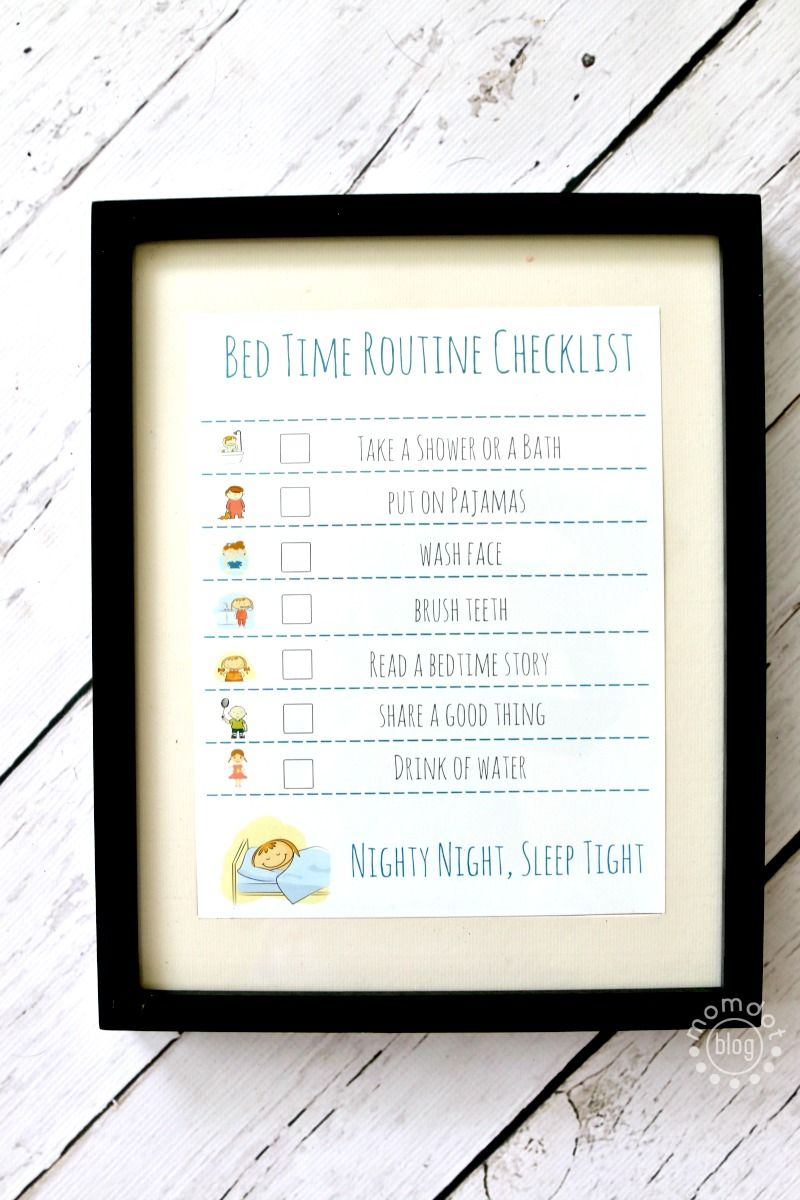 free printable charts and checklists. Bed Time Routine Checklist And Free Printable - Tips With HugOne Get Children To Sleep, Wake Up At The Right For Sleep Cycle Easy Bedtime Charts Checklists