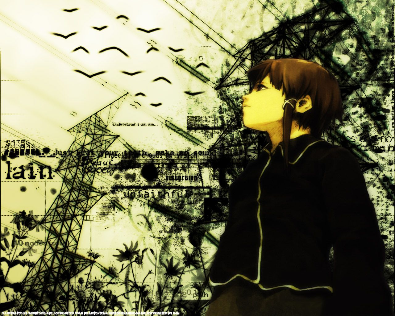 Serial Experiments Lain HD Wallpapers