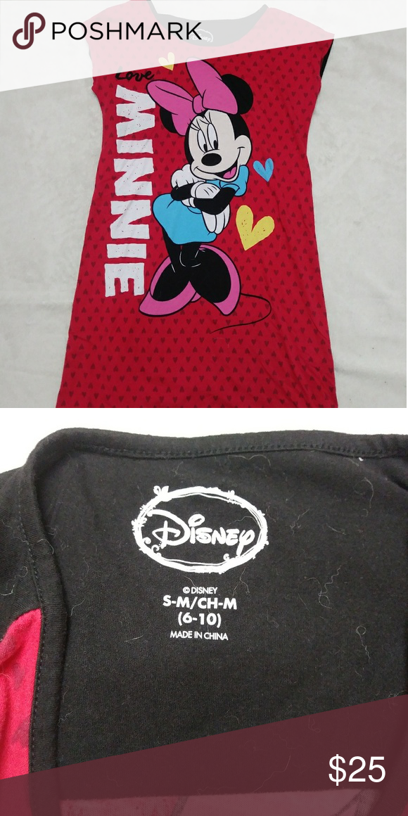 eab2c0c9ae021 Minnie mouse nightgown This nightgown is in like new condition Disney  Intimates & Sleepwear Pajamas