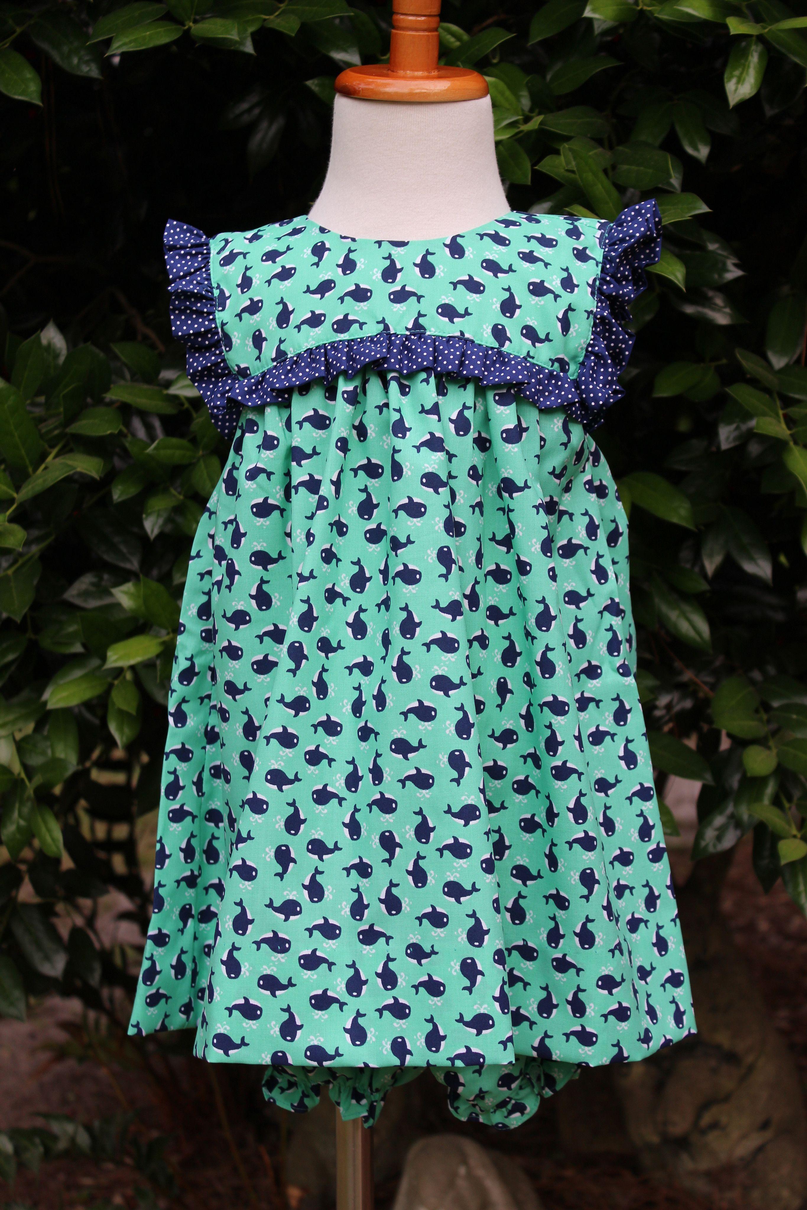 Great Sea Short Dress & Bloomer Set - Fits tts