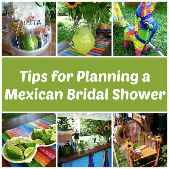 Cinco De Mayo Tips For Planning A Mexican Bridal Shower