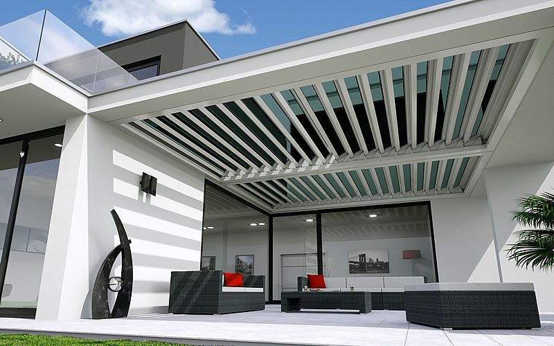 terrassen berdachung von fledmex unter balkon tarasa pinterest terrasse. Black Bedroom Furniture Sets. Home Design Ideas